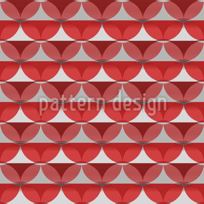 Streifen Oder Kreise Nahtloses Muster