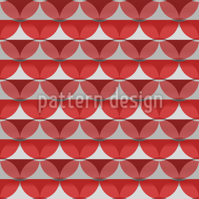 Stripes Or Circles Seamless Pattern