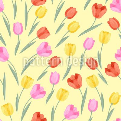 Lovely Tulips Vector Design