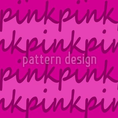 Wie Wäre Es Mit Pink Muster Design