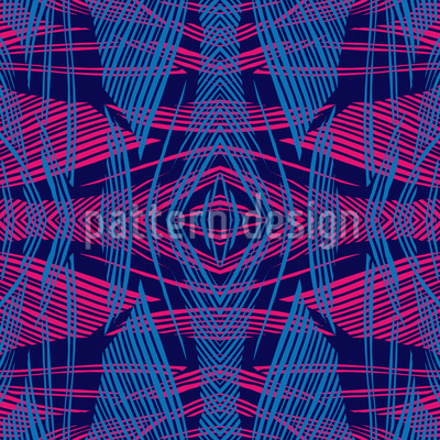 Crossed Line Structure Seamless Vector Pattern