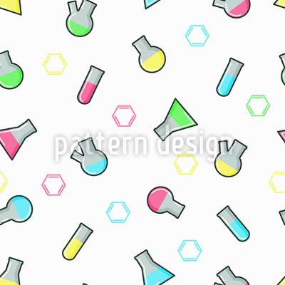 Bunte Analysengeräten Nahtloses Vektor Muster