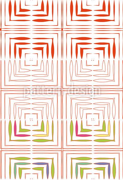 Varied Square Elements Pattern Design
