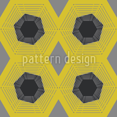 Spider Net Seamless Pattern