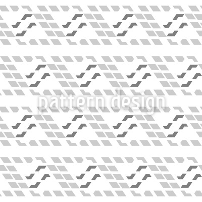 Stylized Waves Seamless Vector Pattern