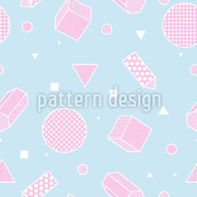 Three-dimensional Elements Repeat Pattern