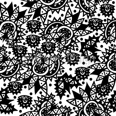 Embellished Elements Vector Ornament