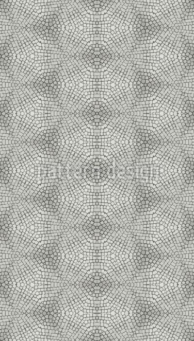 Paving Stone Mosaic Repeat Pattern