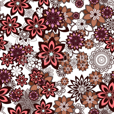Filigree And Sweet Design Pattern