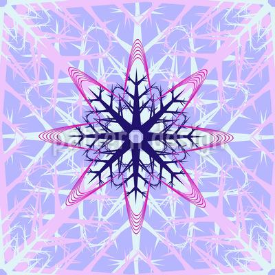 Abstrakte Eiskristalle Rapport