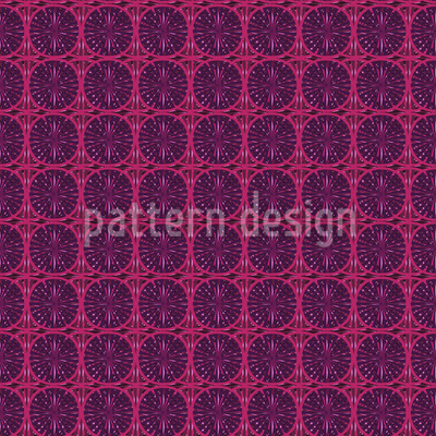 Circular Fashion Seamless Vector Pattern