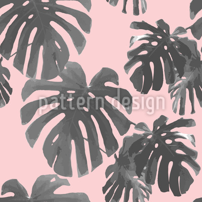 Tropical Palms Repeating Pattern