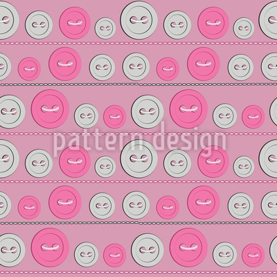 Cute Buttons Vector Ornament