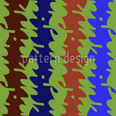 Viele Schlenker Machen Vektor Design