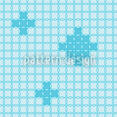 Kreismosaik Nahtloses Vektor Muster