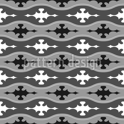 Waved Along Pattern Design