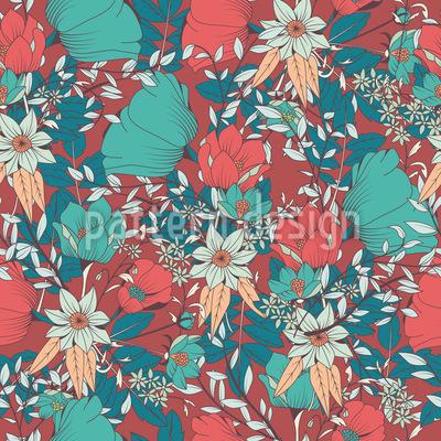 Flourishing Bloom Repeating Pattern