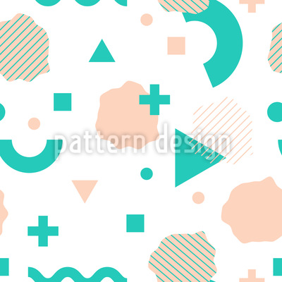 Geometrische Elemente Vektor Ornament