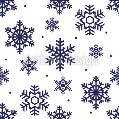 Snowflake Time Repeating Pattern