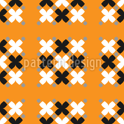 Cross Goupings Seamless Pattern