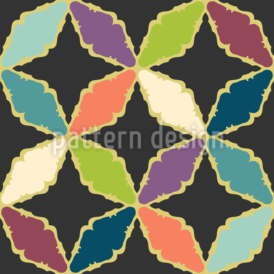 Dark Star Pattern Design