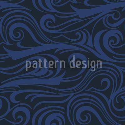 Brisk Waves Ozeania Pattern Design