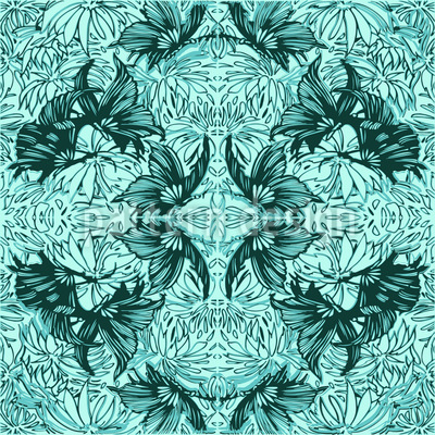Abstract Butterflies Vector Design