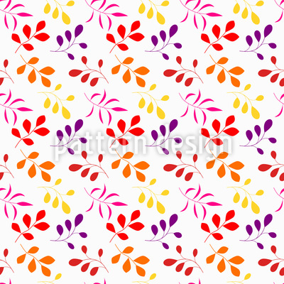 Autumn colors Vector Pattern