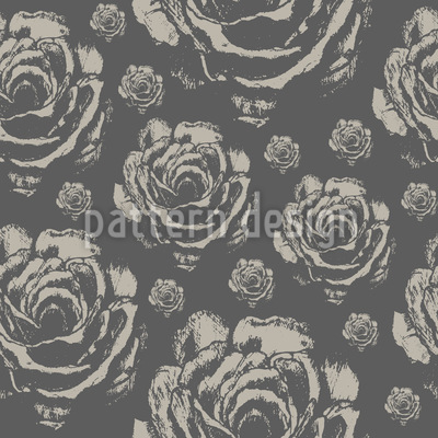 Quiet Roses Repeat Pattern