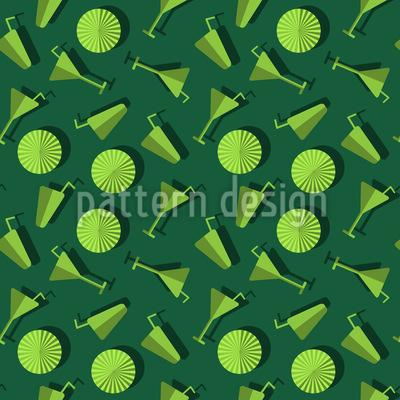 Sommer-Drinks Muster Design