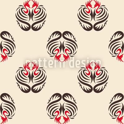 Sengoku Nahtloses Vektor Muster