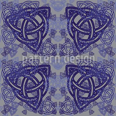 Celtic Symbols Repeat Pattern