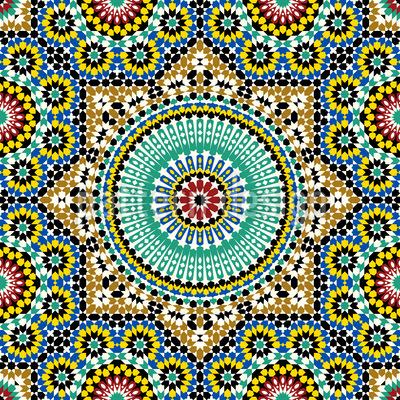 Orientalische Sterne Vektor Design
