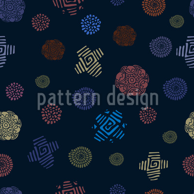 Primitive Beauty Seamless Vector Pattern