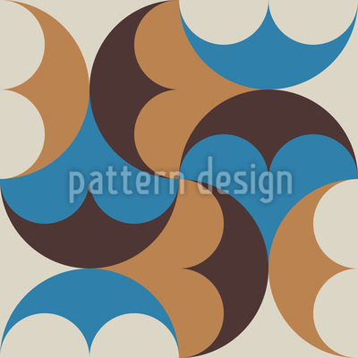 Decorative Orient Mosaic Vector Design