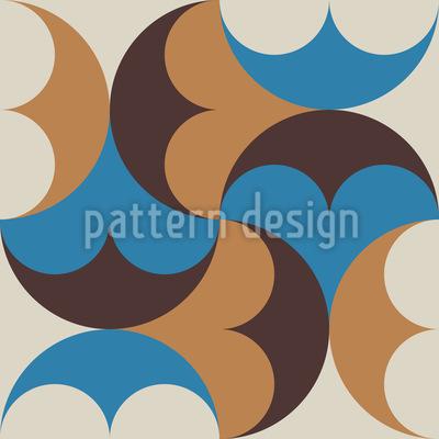 Dekoratives Orientalisches Mosaik Vektor Design