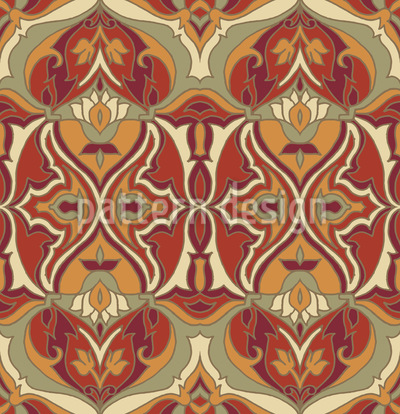 Earthy Abstract Vector Ornament