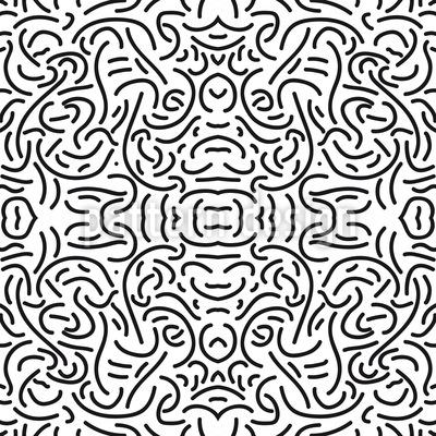 Hidden Treasure Seamless Pattern
