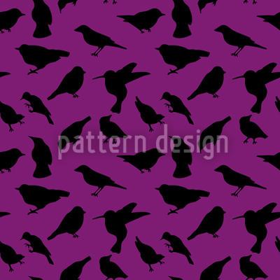 Vogelschwarm Musterdesign
