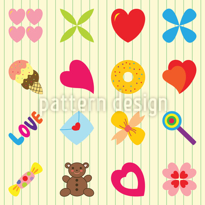 For You Only Pattern Design