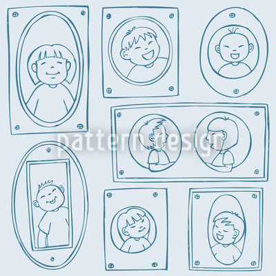 Picture Frames Vector Pattern