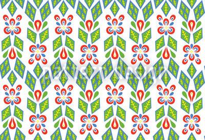 Blumenfeld Arrangement Muster Design