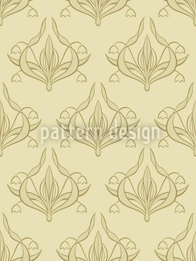 Lilly Beige Designmuster
