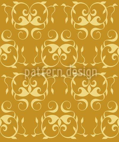 Ars Chocolat Caramel Vector Pattern