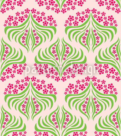 Flush Flower Seamless Pattern
