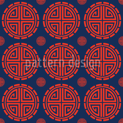 Mister Chans House Vector Pattern