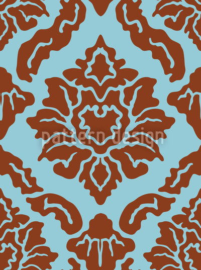 Pop Baroque Seamless Vector Pattern