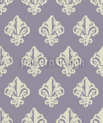 Lady De Winter Violett Designmuster