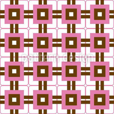 Retro Box Nahtloses Vektor Muster