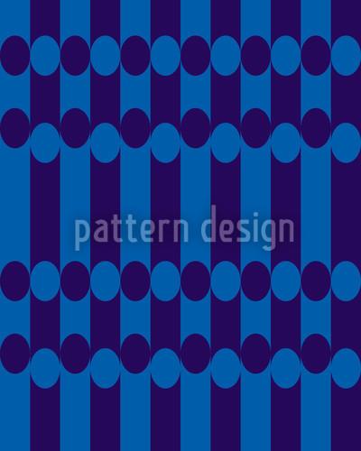 Elypso Blau Vektor Muster